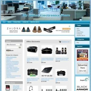 Office Electronics Store Work at home Online Business Affiliate Make Money
