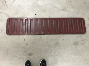 78 96 1978 1996 Ford Bronco Tailgate Access Cargo Interior Panel Maroon Red Oem