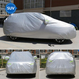 Xxl Suv Car Covers W aluminum Laminated Dust Snow Rain Waterproof Uv Protection