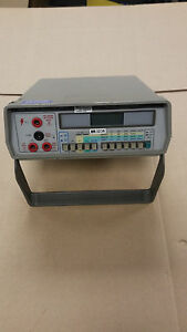 Gw Gdm 8034 3 1 2 Digit Lcd Bench Top Digital Multimeter