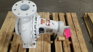 Gusher Pumps 80x250eh c a Horizontal Din End Suction Centrifugal Pump New