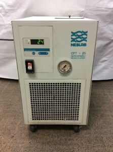 Neslab Coolflow Cft 25 Refrigerated Recirculating Chiller 393103151501 06111s