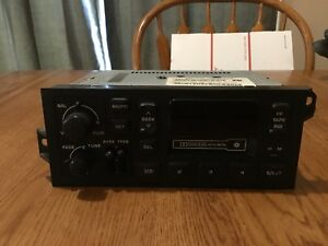 Like New Dodge Stratus Plymouth Breeze Oem Cassette Player Radio Stereo
