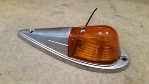 Vintage Kd518 Cab Light Amber Ls336 Lens Classic Truck Pickup Semi Rat Rod
