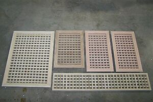 Made To Your Size Large Wood Floor Grate Wall Register Floor Vent Airflow