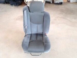 Passenger Right Front Seat W Seat Belt Gray Cloth Fits 2002 Avalanche 1500 Oem