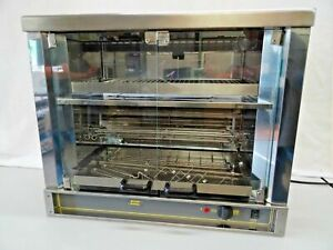 Equipex Stainless Steel Commercial Electric 1 spit Rotisserie Oven