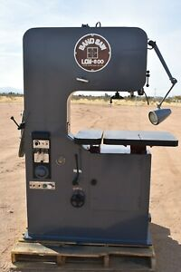 Used Leten Band Saw Lcm 600 220 440 Volts 3 Phase 2hp