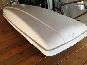 Used Yakima Rocketbox Carrier Roof Cargo Box Large Local Denver Pickup