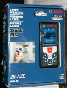 Bosch Professional Glm 42 135 Ft Laser Measuring Tool