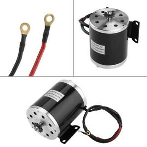 500w Dc 24v Electric Brushed Motor With Bracket For Diy Electric Scooter E Bike