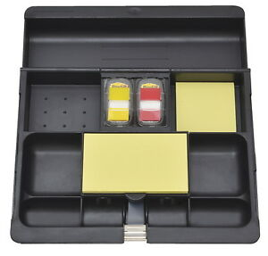 Post it Deskdrawer Organizer 10 1 2 X 11 3 4 X 1 3 5 Inches