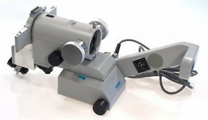 Zeiss Opmi 6 cfr Ophthalmic Surgical Microscope Body Motor Focus Zoom Oblique Nr