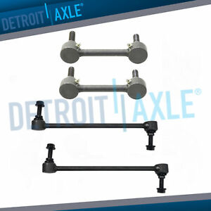 Front And Rear Sway Bar End Link Set 2013 2014 2015 2016 Lincoln Mkz Ford Fusion
