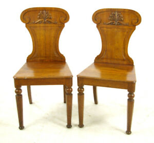 Carved Oak Chairs Gothic Chairs Renaissance Scotland 1850 B976 Reduced 33