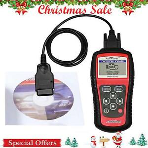 Eobd Obdii Obd2 Auto Diagnostic Scanner Car Engine Dtc Fault Code Reader Tool