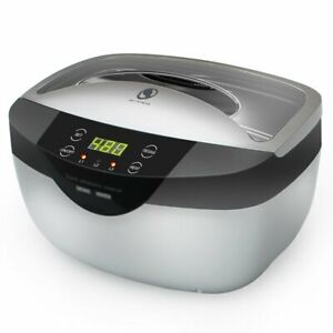 Professional Digital Ultrasonic Cleaner Machine With Timer Heated Cleaning 2 5l