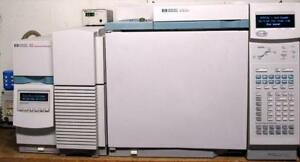 Hp agilent 6890 5973n Gcms System With Pc Chemstation