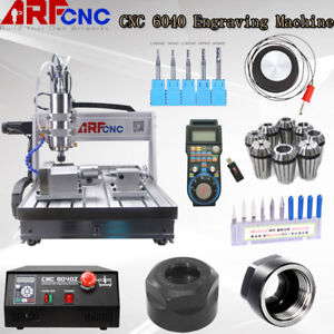 Usb 4 Axis 6040 2200w Cnc Router Engraver Engraving Milling Machine Mach3 Us