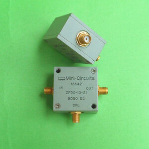1pc Used Good Mini circuits Zfdc 10 21 1 1000mhz 10db Coupler