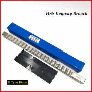 25mm F Push Type Keyway Broach Cutter Cutting Hss Metric Push Knif Cnc Machine