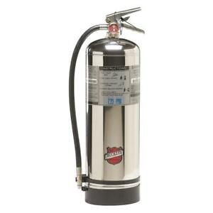 Water Unfilled Fire Extinguisher With 2 5 Gal Capacity And 48 To 52 Sec Discha