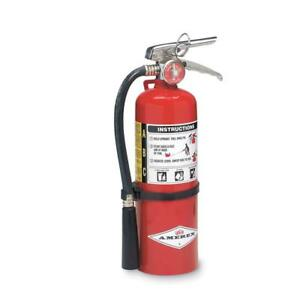 Dry Chemical Fire Extinguisher With 5 Lb Capacity And 14 Seg Discharge Time