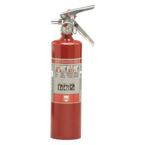 Dry Chemical Fire Extinguisher With 2 5 Lb Capacity And 8 To 10 Sec Discharge