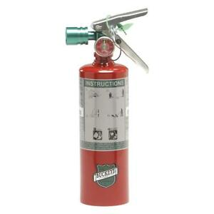 Clean Agent Fire Extinguisher With 2 5 Lb Capacity And 8 To 10 Sec Discharge T