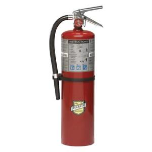 Dry Chemical Fire Extinguisher With 10 Lb Capacity And 20 A 24 Seg Discharge T
