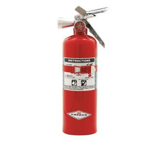 Halotron Fire Extinguisher With 5 Lb Capacity And 9 Sec Discharge Time