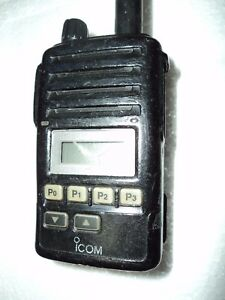 Icom F50v Vhf Portable Radio 100 Tested Working Radio Narrow Fire Pager Murs