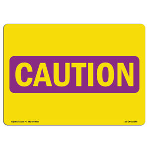Osha Caution Radiation Sign Process Hazards made In The Usa