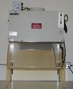 Nuaire Nu813 300e 3 Biological Hood With Air flow Filter