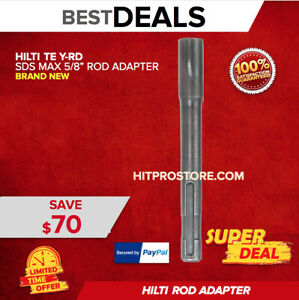 Hilti Te Y rd Sds Max 5 8 Rod Adapter Brand New Fast Shipping