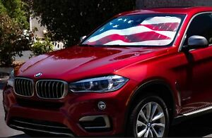 Driver Mods Us Flag Custom Car Sun Shade For Mazda 2002 2003 Protege5