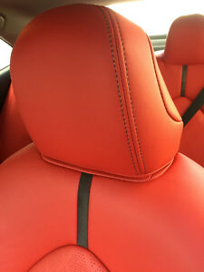 2018 2019 Toyota Camry Le Se Roadwire Red Factory Style Leather Seat Covers