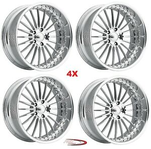 17 Pro Wheels P4 Forged Billet Rims Custom Offset Intro Foose Us American Multi