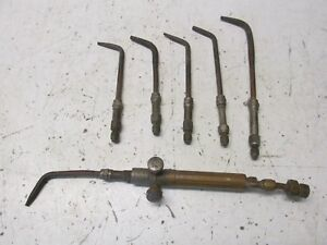 Vintage Small Smith Welding Equipment Brazing Tips And Mixer