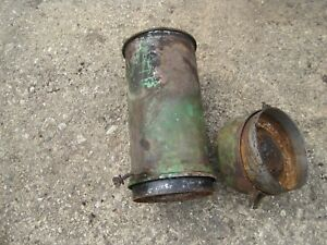 John Deere A Tractor Air Cleaner Slant Dash Styled