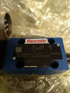 Rexroth Proportional Pressure Relief Valve Dbetre 21 180g24k31a1m R900969416