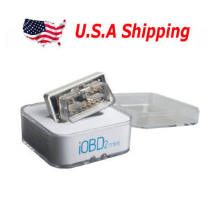 Usa Shipping Xtool Iobd2 Mini Obd2 Eobd Scanner Bluetooth 4 0 For Ios
