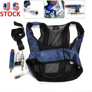 Air Compressed Cooling Vest Vortex Tube Air Conditioner Waistcoat Welding New Us