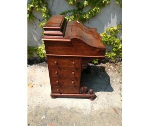 Important Writing Desk Davenport With Folding