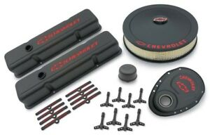 Proform 141 758 Gm Performance Small Block Chevy Black Crinkle Dress up Kit
