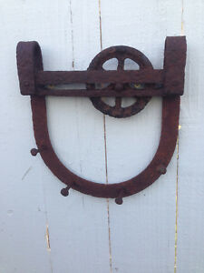 Vintage Barn Door Hardware Clothes Hanger