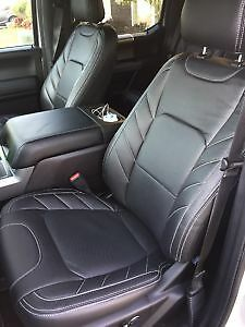 Ford F150 Xlt Roadwire Signature Series Black Leather Seat Covers F 150