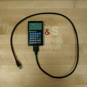 Allen Bradley 22 him a3 Hand Held Him Controller Series A Lcd Keypad Used