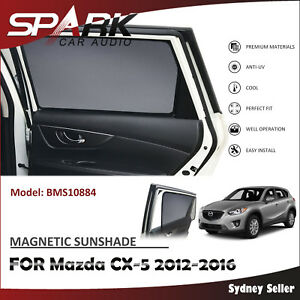 Ad Magnetic Car Window Sun Shade Blind Mesh For Mazda Cx 5 Cx5 2012 2016
