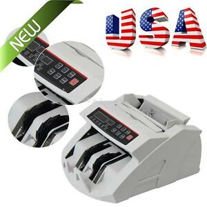 Portable Money Bill Counter Counting Machine Counterfeit Detector Uv